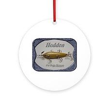 Heddon Fat Body Ornament (Round)