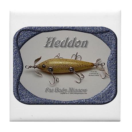 Heddon Fat Body Tile Coaster