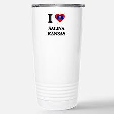 I love Salina Kansas Travel Mug