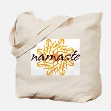 namaste_warm_white.png Tote Bag