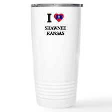 I love Shawnee Kansas Travel Mug