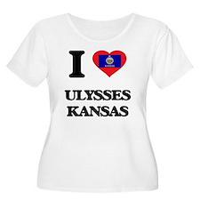 I love Ulysses Kansas Plus Size T-Shirt