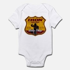 BODY SHOP SIGN Infant Bodysuit