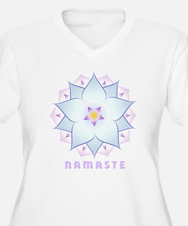 3-namaste-4 Plus Size T-Shirt