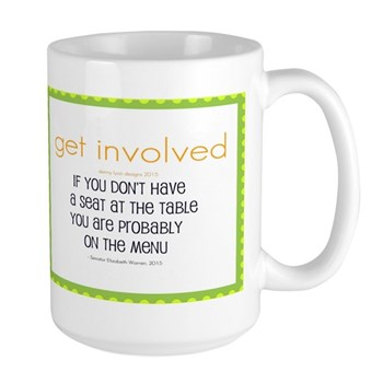 Why Get Involved Large Mugs