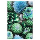 Blue flowers Wall Art