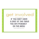 Why Get Involved Postcards (package Of 8)