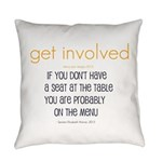 Why Get Involved Everyday Pillow