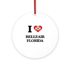 I love Belleair Florida Ornament (Round)