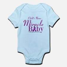 Personalized Miracle Baby Infant Body Suit