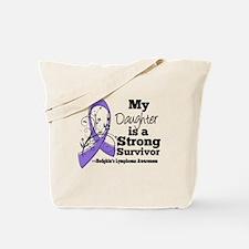 Daughter Hodgkins Lymphoma Tote Bag