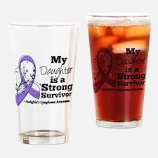 Daughter Hodgkins Lymphoma Drinking Glass