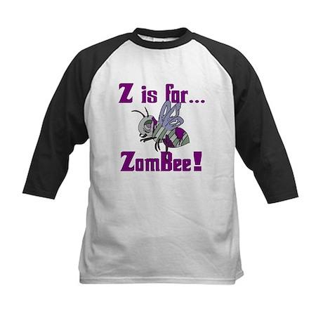 Z is for Zombee Kids Baseball Jersey