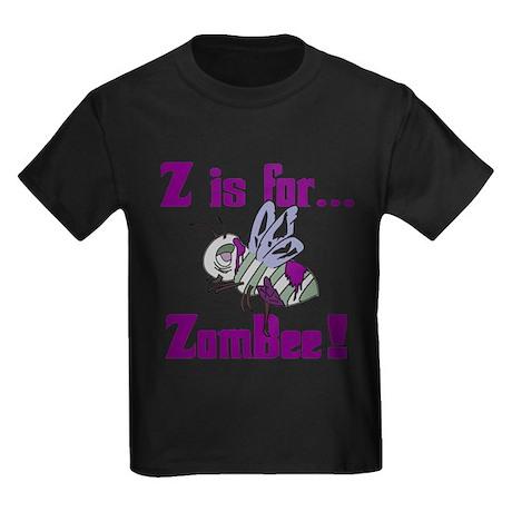 Z is for Zombee Kids Dark T-Shirt