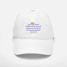 Psalms 18:46 Baseball Baseball Baseball Cap