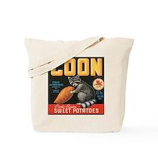Coon Sweet Potatoes Vintage C Tote Bag