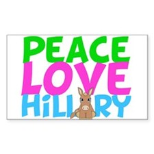 Love Hillary Decal