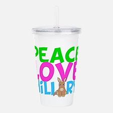 Love Hillary Acrylic Double-wall Tumbler