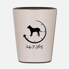 Presa Canario Shot Glass
