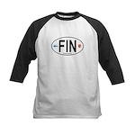 Finland Euro Oval Kids Baseball Jersey