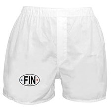 Finland Euro Oval Boxer Shorts