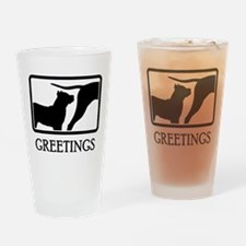 Presa Canario Drinking Glass