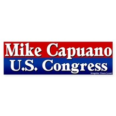 Re-elect Mike Capuano Bumper Bumper Sticker