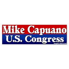 Re-elect Mike Capuano Bumper Bumper Sticker