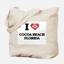 I love Cocoa Beach Florida Tote Bag
