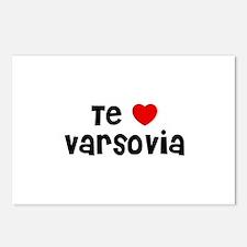 Te * Varsovia Postcards (Package of 8)
