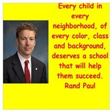 rand paul quotes Poster