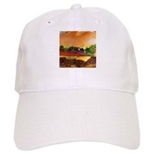 funny cheeseburger Baseball Baseball Cap