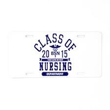 Class of 2015 BSN Aluminum License Plate