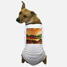 funny cheeseburger Dog T-Shirt