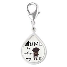 Home is Where My (dog) is Charms