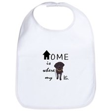Home is Where My (dog) is Bib
