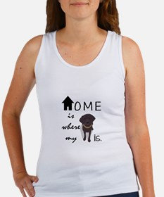 Home is Where My (dog) is Tank Top