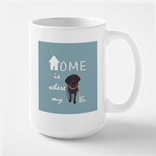 Home is Where My (dog) is Mugs