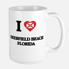 I love Deerfield Beach Florida Mugs