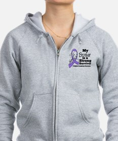 Brother Hodgkins Lymphoma Zip Hoodie