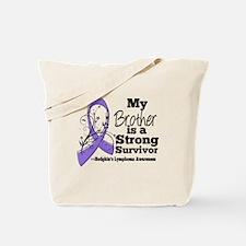 Brother Hodgkins Lymphoma Tote Bag