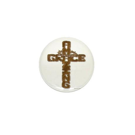 Amazing Grace Mini Button