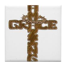 Amazing Grace Tile Coaster