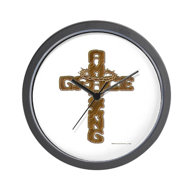 Amazing Grace Wall Clock By Mazinggrace