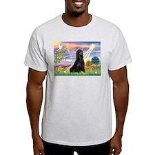 Cloud Angel & Gordon Setter T-Shirt
