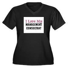 I Love My MANAGEMENT CONSULTANT Women's Plus Size