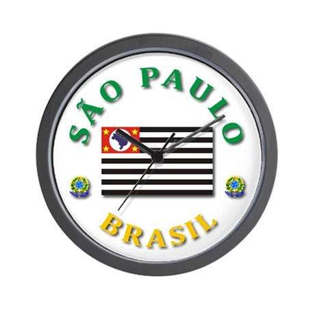 Sao Paulo Wall Clock