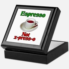 Espresso Not x-press-o Keepsake Box