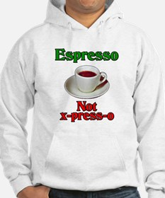 Espresso Not x-press-o Hoodie