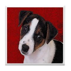 JRT Puppy Ink Sketch Tile Coaster